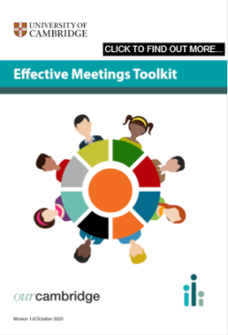 Click here for our Effective Meetings toolkit